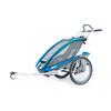 Thule Chariot CX 1 + fietsset blauw